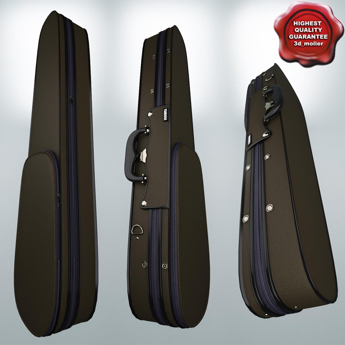 3d max violin case yamaha