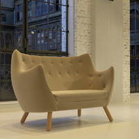 Poeten Sofa and Eye Table