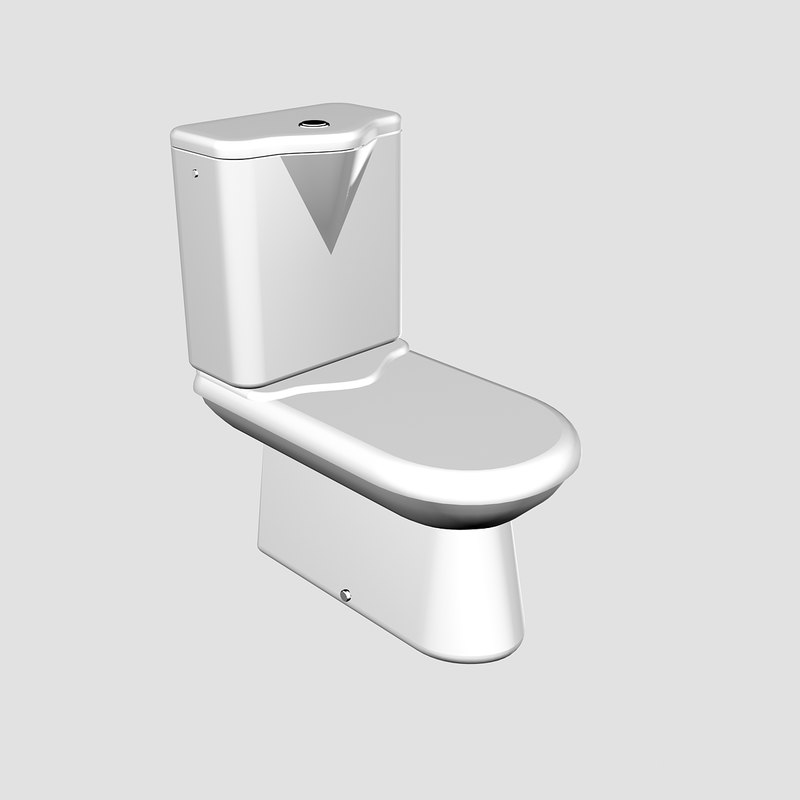 3ds max water closet