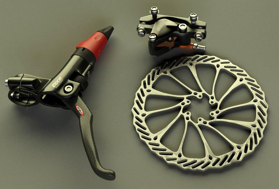 avid elixir cr brakes 3d max