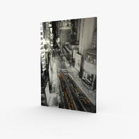 Wall Canvas Art New York Times Square 2