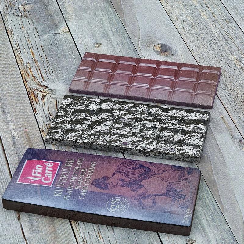 3d chocolate model