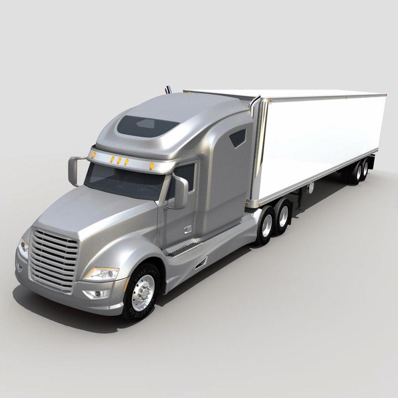 semi truck trailer lwo