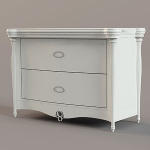 3d model commode dekorosso mobili