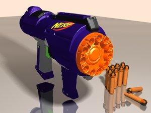 free max mode 10 nerf gun