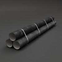 3dsmax metal pipes