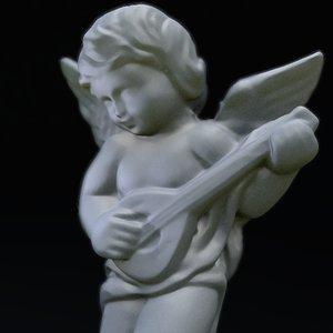 marble angel 3d model