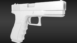3ds max pistol g18