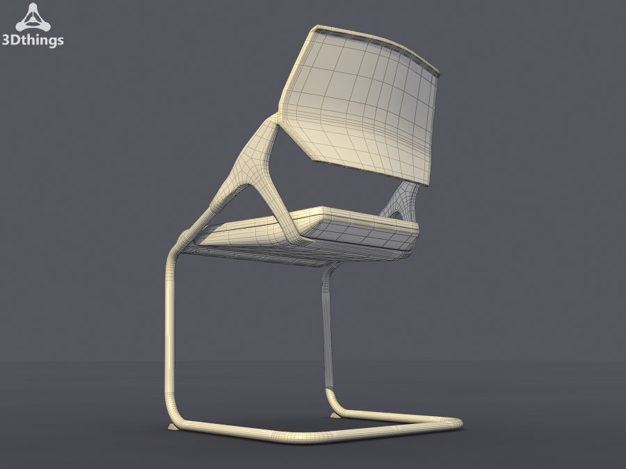 conference chair roxy 3d max