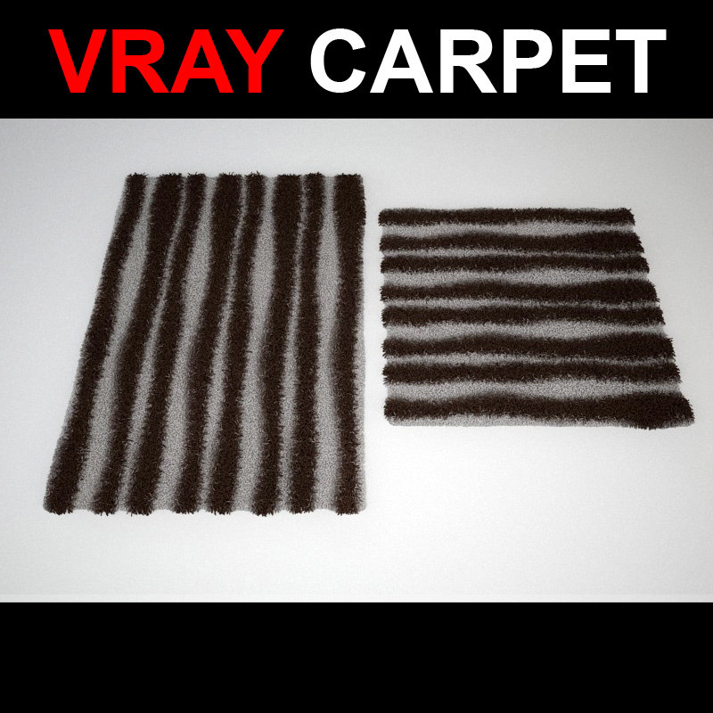 3d rug strands