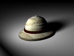3ds max safari hat