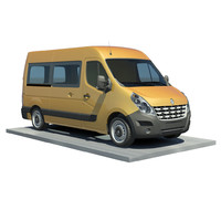 Renault Master L2H2-vitre