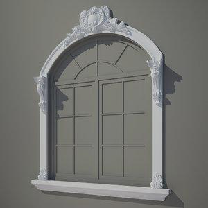 3d model decorate facades