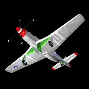 ww2 fighter plane 3d pz3