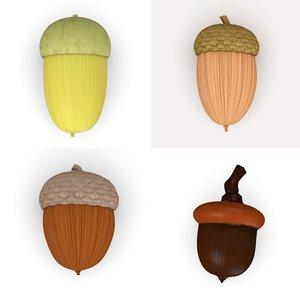 3dsmax acorns