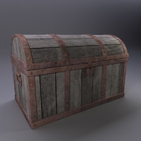 treasure chest obj