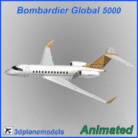 Bombardier Global 5000 House livery