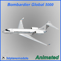 bombardier global 5000 3ds