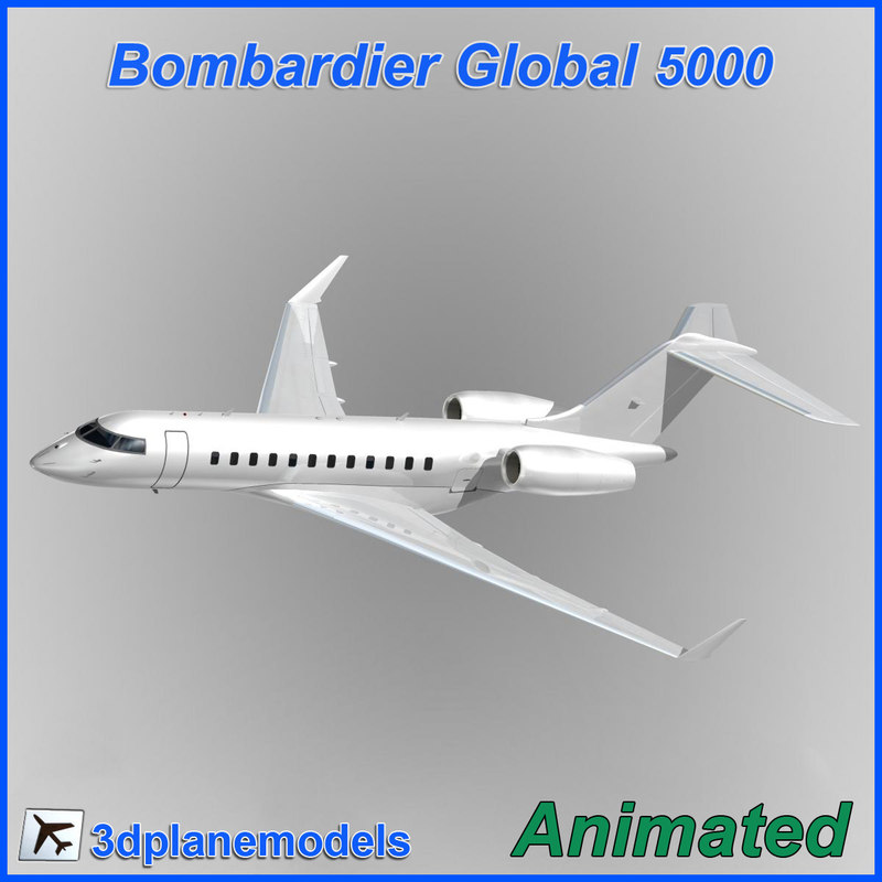 dxf bombardier global 5000
