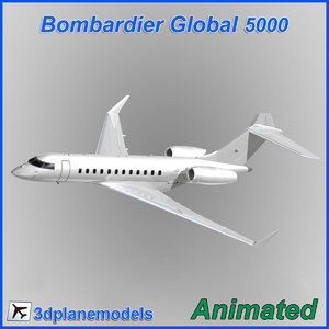 dxf bombardier global 5000