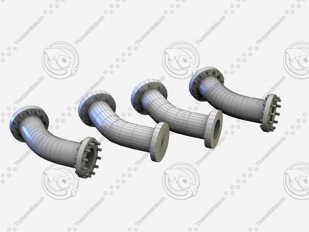 3ds max pipe 45 bend version