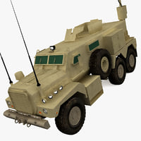 3ds max armored fighting vehicle cougar