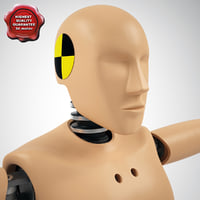 Crash Test Dummy Hibrid 3 Static