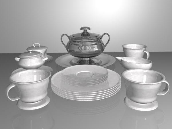 3ds set 10 dish