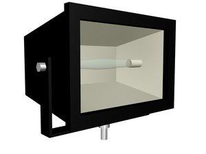 free flood light 3d model