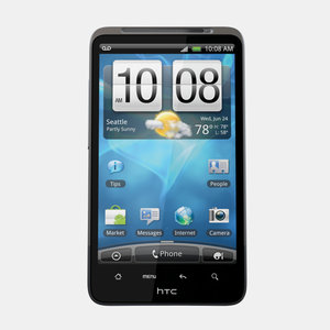 htc inspire 4g mobile phone 3d model