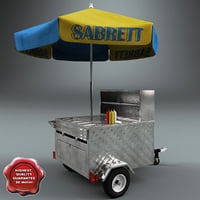 Hot Dog Cart V3
