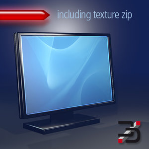 monitor 3d c4d