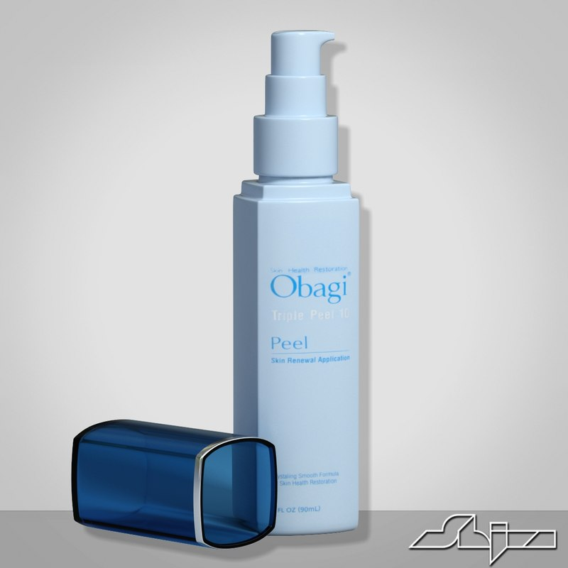3d model obagi peel gel