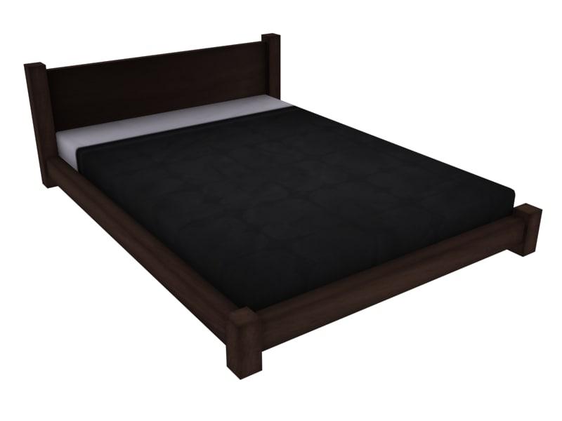 3d bed perfect model