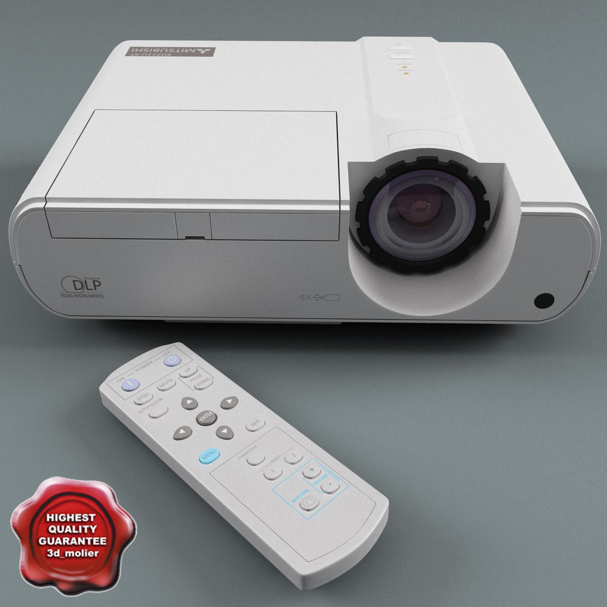 3ds max projector mitsubishi xd221u st