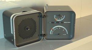 3d iconic radio model