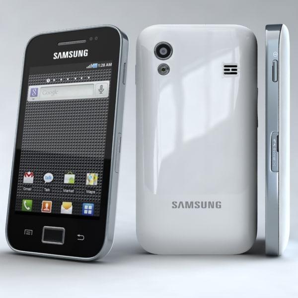 samsung galaxy ace s5830 3d model