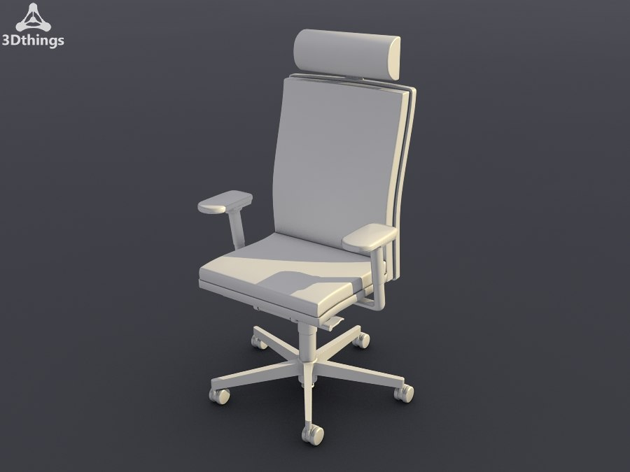 conference chair mr 24 3d model