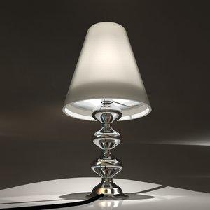 3d model lamp lights