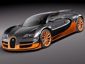 bugatti veyron super sport 3ds