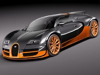 Bugatti Veyron Super Sport 2012