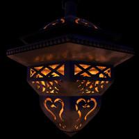 lamp oriental 3d model