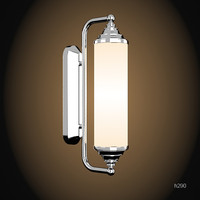 devon & devon tube bathroom wall lamp classic sconce