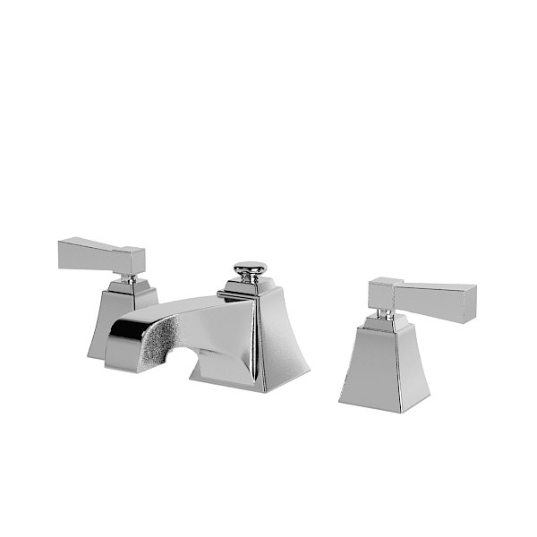 3d model devon bathroom faucet