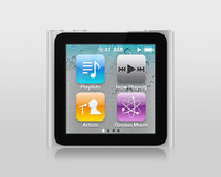 3d model apple ipod nano 6g