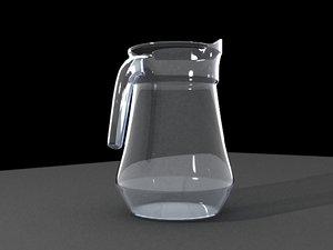 3ds max glass jar