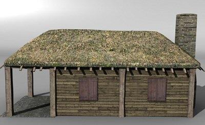 medieval building 3ds