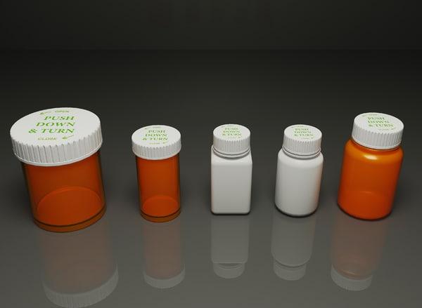 medication bottles max