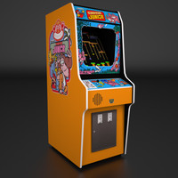 Donkey Kong Jr Arcade Low Poly