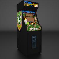 3d 1985 arcade model